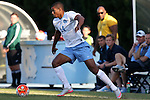 23 October 2015: North Carolina's Omar Holness (JAM). The University of North Carolina Tar Heels hosted the University of Louisville Cardinals at Fetzer Field in Chapel Hill, NC in a 2015 NCAA Division I Men's Soccer match. UNC won the game 2-1.