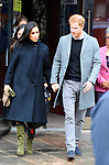 Prince Harry and Meghan Duchess of Sussex visit  The Old Vic  theatre  Bristol  01.02.19