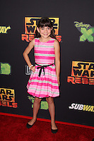 "Chloe Noelle<br /> at the premiere of ""Star Wars Rebels,"" AMC Century City, Century City, CA 09-27-14<br /> David Edwards/DailyCeleb.com 818-915-4440"