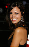 "HOLLYWOOD, CA. - September 16: Torrey DeVitto arrives at the Los Angeles Premiere of ""Eagle Eye"" at the Mann's Grauman Chinese Theatre on September 16, 2008 in Los Angeles, California."