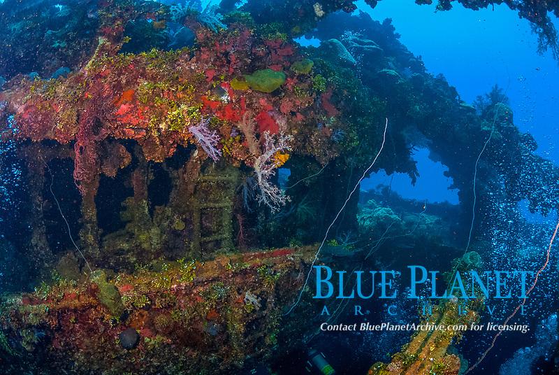 Operation Hailstone, Wreck, WWII, Japanese shipwreck, Chuuk, Micronesia, Truk, Chuuk Lagoon, Pacific Ocean