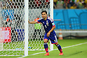Yuto Nagatomo (JPN), <br /> JUNE 14, 2014 - Football /Soccer : <br /> 2014 FIFA World Cup Brazil <br /> Group Match -Group C- <br /> between Cote d'Ivoire 2-1 Japan <br /> at Arena Pernambuco, Recife, Brazil. <br /> (Photo by YUTAKA/AFLO SPORT) [1040]