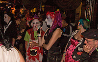 More audience in fancy dress, Barnboppers and Shuddervision, Ska-lloween Gig 29 October 2011 The Wagon and Horses, Digbeth,