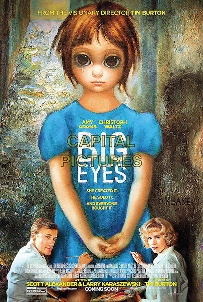 POSTER ART<br /> in Big Eyes (2014) <br /> *Filmstill - Editorial Use Only*<br /> CAP/FB<br /> Image supplied by Capital Pictures