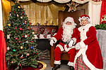 BETHLEHEM, CT. 07 December 2018-120718 - Santa and Mrs Claus made a brief appearance to take photos with all the children during the annual Christmastown Festival on the Town Green in Bethlehem on Friday. Bill Shettle Republican-American
