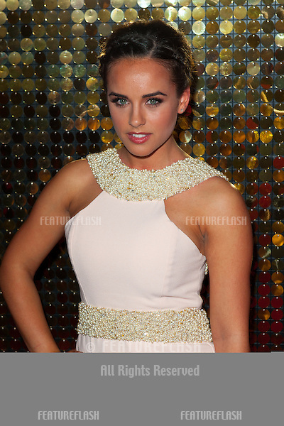 Georgia May Foote arriving for the 2014 British Soap Awards, at the Hackney Empire, London. 24/05/2014 Picture by: Dave Norton / Featureflash