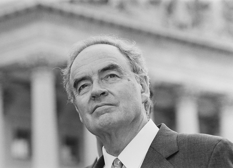 Sen. Harris Wofford, D-Pa., in June 1991. (Photo by Maureen Keating/CQ Roll Call via Getty Images)
