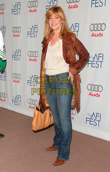 SHARON LAWRENCE.attends AFI Film Festival Screening of Lies & Alibis held at the Arclight Rooftop in Hollywood, California, USA, November 10th 2006.full length.Ref: DVS.www.capitalpictures.com.sales@capitalpictures.com.©Debbie VanStory/Capital Pictures