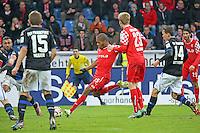 Charlie Benschop (Fortuna) erzielt das 0:2- FSV Frankfurt vs. Fortuna Düsseldorf, Frankfurter Volksbank Stadion