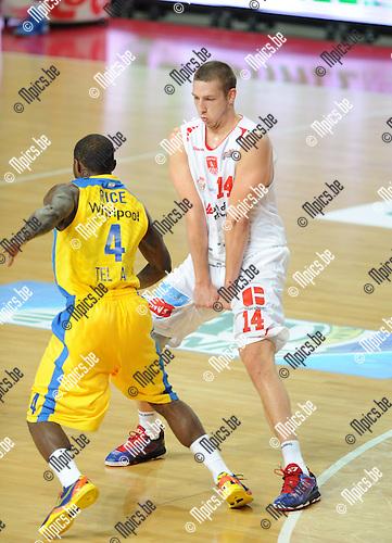 2013-09-22 / Basketbal / seizoen 2013-2014 / Antwerp Giants / Maxime De Zeeuw<br /><br />Foto: Mpics.be