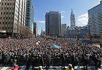 Super Bowl LII - Philadelphia Eagles Super Bowl Parade on February 8, 2018 in Philadelphia, Pennsylvania. (Photo by Hunter Martin/Philadelphia Eagles)