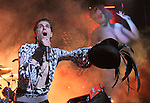 Perry Farrell of Jane's Addiction live at Verizon Wireless Ampitheatre as part of the NIN/JA Tour in Irvine, California on May 20,2009                                                                     Copyright 2009 Debbie VanStory / RockinExposures