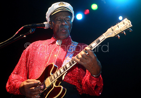 Saturday, December 13, 2008--St. Louis rock legend Chuck Berry performs a sold-out show at The Pageant..Sarah Conard | freelance