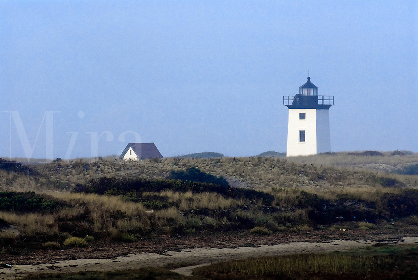 Wood End Lighthouse, Long Point, Provincetown, Cape Cod, Massachusetts, USA.