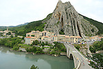 101 Tour de France 2014 - <br /> the pack competes during stage fifteenth of the cycling road race 'Tour de France' at Sisteron, on July 20, 2014.