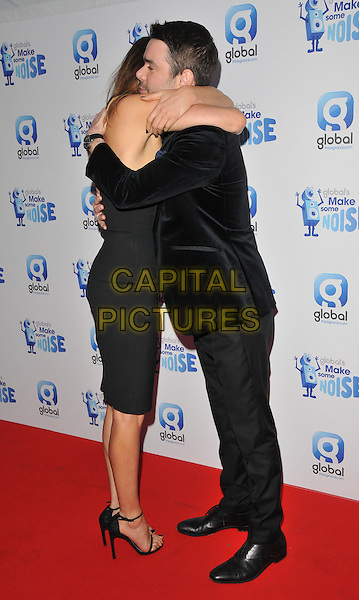 Lisa Snowdon &amp; Dave Berry attend the Global Radio's Make Some Noise Night Gala, Supernova, Embankment Gardens, London, England, UK, on Tuesday 24 November 2015. <br /> CAP/CAN<br /> &copy;CAN/Capital Pictures