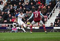 Barclays Premier League, West Ham United (red)V Swansea City Fc (white), Boelyn Ground, 02/02/13<br />