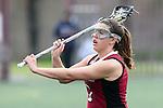 Santa Barbara, CA 02/18/12 - Maggie Burke (Santa Clara #7) in action during the Santa Clara-Arizona game at the 2012 Santa Barbara Shootout.  Santa Clara defeated Arizona 18-9.