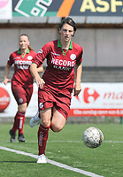 20180804 - ZULTE , BELGIUM : Zulte Waregem's Frieke Temmerman pictured during a friendly soccer match between the women teams of Zulte Waregem and Bosdam Beveren  , during the preparation of the 2018-2019 season, Saturday 4 August 2018 . PHOTO DIRK VUYLSTEKE / SPORTPIX.BE