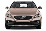 Straight front view of a 2013 Volvo V40 Cross Country Summum Hatchback