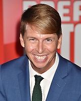HOLLYWOOD, CA - NOVEMBER 05: Jack McBrayer attends the Premiere Of Disney's 'Ralph Breaks The Internet' at the El Capitan Theatre on November 5, 2018 in Los Angeles, California.<br /> CAP/ROT/TM<br /> &copy;TM/ROT/Capital Pictures