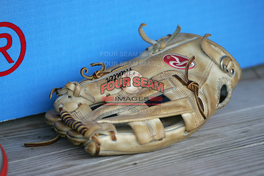 Baseball glove. Photo by Andrew Woolley / Four Seam Images.