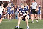 Santa Barbara, CA 02/13/10 - Brooke Smith (BYU # 6) in action during the BYU-UC Davis game at the 2010 Santa Barbara Shoutout, UC Davis defeated BYU 9-7.
