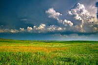 Storm clouds over the prairie at Grand River National Grassland, southwest of Lemmon, South Dakota, AGPix_0084 .