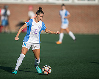 Allston, MA - Saturday August 19, 2017: Ali Krieger during a regular season National Women's Soccer League (NWSL) match between the Boston Breakers and the Orlando Pride at Jordan Field.