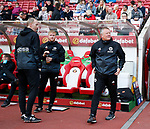 Alan Knill Assistant manager of Sheffield Utd  and Chris Wilder manager of Sheffield Utd during the Championship match at the Stadium of Light, Sunderland. Picture date 9th September 2017. Picture credit should read: Simon Bellis/Sportimage