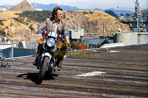 Clint Eastwood<br /> in Magnum Force (1973) <br /> *Filmstill - Editorial Use Only*<br /> CAP/NFS<br /> Image supplied by Capital Pictures