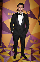 BEVERLY HILLS, CA - JANUARY 07: Actor Milo Ventimiglia arrives at HBO's Official Golden Globe Awards After Party at Circa 55 Restaurant in the Beverly Hilton Hotel on January 7, 2018 in Los Angeles, California.