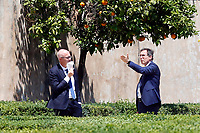 Minister of Regional Affairs Francesco Boccia and in the gardens of the Casina del buon respiro, inside Villa Pamphilj, where the Italian Premier convened the States General of Economy. The summit was strictly behind closed doors and the press was kept outside. Rome (Italy), June 15th 2020<br /> <br /> <br /> <br /> Minister of Regional Affairs Francesco Boccia and Minister for the relations with Parliament Federico D'Inca' in the gardens of the Casina del buon respiro, inside Villa Pamphilj, where the Italian Premier convened the States General of Economy. The summit was strictly behind closed doors and the press was kept outside. Rome (Italy), June 15th 2020<br /> <br /> <br /> <br /> Samantha Zucchi Insidefoto