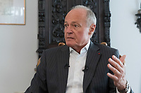 Interview with former Hungarian prime minister Peter Medgyessy in Budapest, Hungary on June 5, 2019. ATTILA VOLGYI