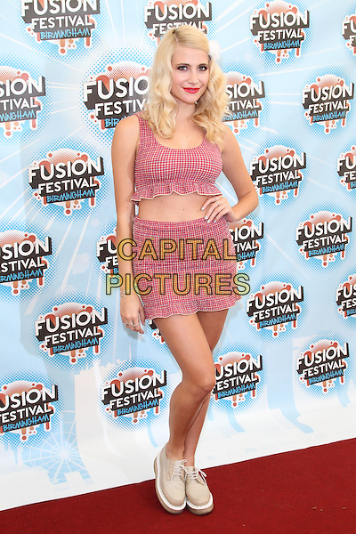 BIRMINGHAM, UNITED KINGDOM - AUGUST 31: Pixie Lott during day 2 of Fusion Festival 2014 on August 31, 2014 in Birmingham, England.<br /> CAP/ROS<br /> &copy;Steve Ross/Capital Pictures