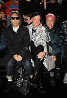 Fujiwara Hiroshi and Stephen Jones in the front row<br /> Dior Homme show, Front Row, Pre Fall 2019, Tokyo, Japan - 30 Nov 2018<br /> CAP/SAT<br /> &copy;Satomi Kokubun/Capital Pictures