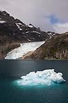Entrée et navigation dans le passage du fjord Christian sund