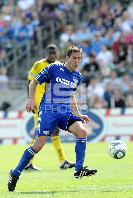 Davy Arnaud...Kansas City Wizards were defeated 1-0 by Columbus Crew at Community America Ballpark, Kansas City, Kansas.