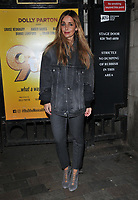 Louise Redknapp at the &quot;9 To 5 The Musical&quot; theatre stage door cast departures, Savoy Theatre, The Strand, London, England, UK, on Wednesday 10th April 2019.<br /> CAP/CAN<br /> &copy;CAN/Capital Pictures