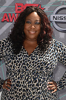 LOS ANGELES, CA - JUNE 26: Loni Love at the 2016 BET Awards at the Microsoft Theater on June 26, 2016 in Los Angeles, California. Credit: David Edwards/MediaPunch