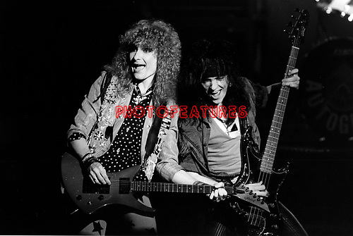 Autograph 1985 Steve Plunkett and Randy Rand