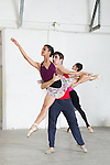 HAVANA, CUBA - JANUARY 2: Students perform at the Center Prodanza of Cuba, a Cuban ballet school in Havana, Cuba on January 2, 2014.  The Cuban National Ballet has become recognised as one of the world's leading ballet companies.