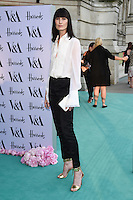 Erin O'Connor<br /> arrives for the V&amp;A Summer Party 2016, South Kensington, London.<br /> <br /> <br /> &copy;Ash Knotek  D3135  22/06/2016