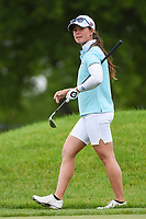 Nuria Iturrioz (ESP) reacts to her tight chip on 1 during the round 3 of the KPMG Women's PGA Championship, Hazeltine National, Chaska, Minnesota, USA. 6/22/2019.<br /> Picture: Golffile | Ken Murray<br /> <br /> <br /> All photo usage must carry mandatory copyright credit (© Golffile | Ken Murray)