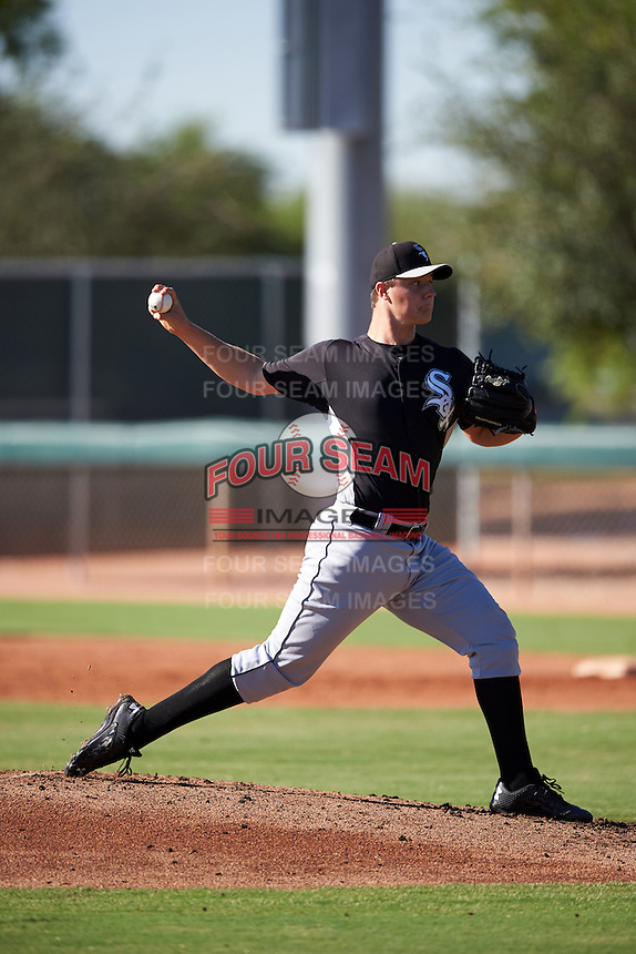 Chicago White Sox pitcher Chris Comito (46) during an Instructional League game against the Los Angeles Dodgers on October 15, 2016 at the Camelback Ranch Complex in Glendale, Arizona.  (Mike Janes/Four Seam Images)