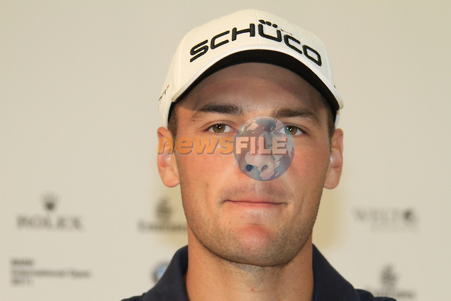 Martin Kaymer (GER) in the interview room during Day 1 of the BMW International Open at Golf Club Munchen Eichenried, Germany, 23rd June 2011 (Photo Eoin Clarke/www.golffile.ie)