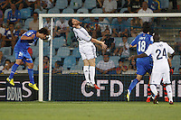 26.08.2012 SPAIN -  La Liga 12/13 Matchday 2th  match played between Getafe C.F. vs Real Madrid CF (0-0) at Alfonso Perez stadium. The picture show Juan Valera Espin (Defender of Getafe)