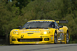 20 July 2007: The Corvette Racing Chevrolet Corvette C6.R driven by Oliver Gavin and Olivier Beretta at the Acura Sports Car Challenge at Mid-Ohio, 2007, Lexington, Ohio.