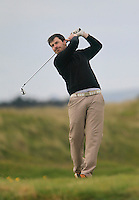 Demond Morgan (Mullingar)<br /> during R1 of the East of Ireland Amateur Open championship 2013 at Co Louth Golf club, 1/6/13<br /> Picture:  Thos Caffrey / www.golffile.ie