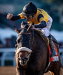 DEC 28: Hard Not To Love with Mike Smith wins the La Brea Stakes at Santa Anita Park in Arcadia, California on December 28, 2019. Evers/Eclipse Sportswire/CSM